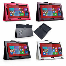 Yousave Accessories For The Nokia Lumia 2520 PU Leather Flip Stand Case Cover UK