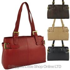 NEW Ladies Soft LEATHER Shoulder HANDBAG by GiGi OTHELLO Collection Classic