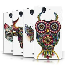 STUFF4 Phone Case/Back Cover for Sony Xperia Z /Ornamental Animals