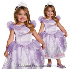 CK176 Disney Sofia The First Deluxe Fancy Child Toddler Girl Book Week Costume  sc 1 st  eBay & Disney Sofia The First Princess Children Girl Gown Party Costume ...