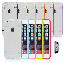 ULTRA SLIM CRYSTAL HARD BUMPER CASE COVER FOR iPHONE 4s 5s 5C SCREEN PROTECTOR