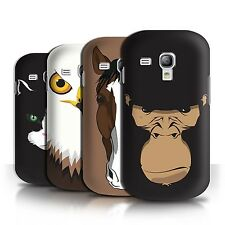 STUFF4 Phone Case/Back Cover for Samsung Galaxy S3 Mini /Animal Faces