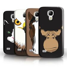 STUFF4 Phone Case/Back Cover for Samsung Galaxy S4 Mini /Animal Faces