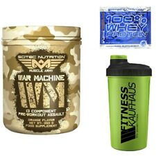 Scitec Nutrition Muscle Army War Machine 350g Kreatin + Shaker + Probe