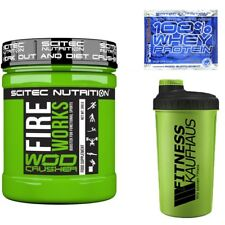 Scitec Nutrition Wod Crusher FIREWORKS 360g Booster + Shaker + Probe
