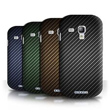 STUFF4 Phone Case/Cover for Samsung Galaxy S3 Mini /Carbon Fibre Effect/Pattern