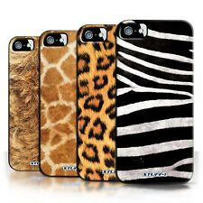 STUFF4 Phone Case/Back Cover for Apple iPhone 5/5S /Animal Fur Effect/Pattern