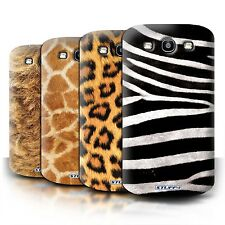 STUFF4 Phone Case/Cover for Samsung Galaxy S3/SIII /Animal Fur Effect/Pattern