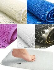 BEST QUALITY NON SLIP BATHROOM COLOURED PVC COMFORT BATH SHOWER SECURE GRIP MAT