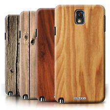 STUFF4 Phone Case/Cover for Samsung Galaxy Note 3 /Wood Grain Effect/Pattern