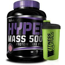 Biotech USA Hyper Mass 5000  5000g Bio Tech Weight Gainer + Shaker