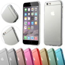 Apple iPhone 6 6s TPU Silikon Schutz Hülle Bumper Crystal Case Handy Tasche