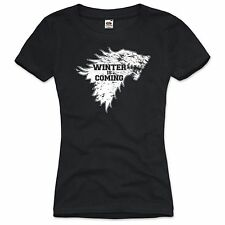 Winter is Coming Damen T-Shirt game stark of winterfell thrones ned winter dvd