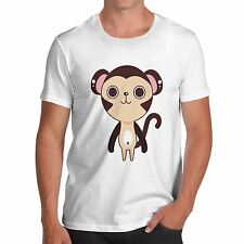 Men's Cute Monkey Funny Animal T-Shirt