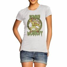 Women Cotton Novelty Animal Theme Zombie Monkey T-Shirt