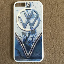 BLUE RUSTY VW CAMPER VAN HARD CASE COVER FOR  IPHONE 4/4S 5/5S/5C/iPhone 6/Plus