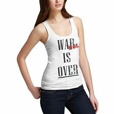 Women Cotton Novelty Design Gift Idea Warhol Is Over Tank Top
