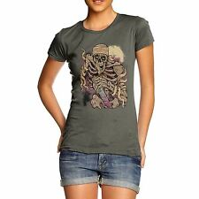 Twisted Envy Women's Blood Sucking Monster 100% Organic Cotton T-Shirt