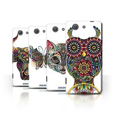 STUFF4 Phone Case/Back Cover for Sony Xperia Z3 Compact /Ornamental Animals