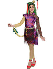 Costume Carnevale Halloween Vestito Jinafire Long Monster High Bambina