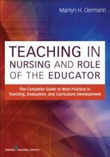 Teaching in Nursing and Role of the Educator by Paperback Book (English)