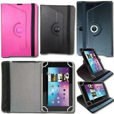 "Universal Leather Cover Flip Case Stand Folio For 7"" Inch Tablets + Stylus Pen"