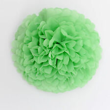 APPLE GREEN color tissue paper Pom Pom - party  wedding handmade decorations