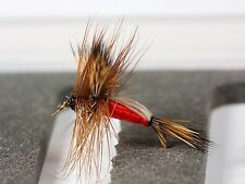 6 Humpy Dry Trout Fly Fishing Flies 4 patterns 4 sizes by Dragonflies