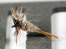 6 Adams Straight Female, Irrisistible Dry Trout Fly Fishing Flies -Dragonflies