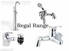 Regal Chrome Bathroom Taps Sink Basin Mixer Bath Filler Shower Tap Free Standing