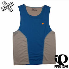 PEARL IZUMI 'INFINITY SINGLET' MENS VEST SMALL BLUE TECHNICAL RACE TOP BIKE BNWT