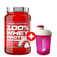 Scitec Nutrition 100% Whey Protein Professional 920g Eiweiss + Ladyline Shaker