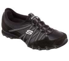 NEU SKECHERS Damen Sneakers Turnschuh Sportschuh BIKERS  DREAM-COME-TRUE Schwarz