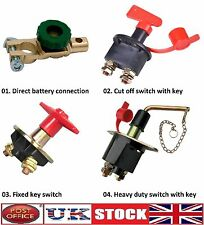 Battery Isolator Switch Cut Off Disconnect Power Kill Terminal Car Van Boat