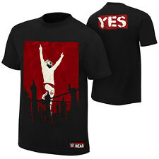 """Official WWE - Daniel Bryan """"Yes Revolution"""" Authentic T-Shirt"""