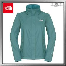 The North Face Resolve Jacket Damen Outdoor Regenjacke TNF balsam blue
