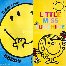 Official Mr Men Little Miss Cotton Beach Bath Towel 4 Designs