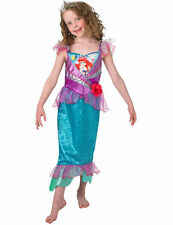 Child Disney Princess Shimmer Ariel Mermaid Girls Fancy Dress Costume