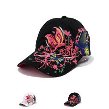 Womens New Fashion Adjustable Flat-Brimmed Hip-Hop Sports Visor Hat Baseball Cap