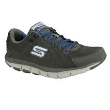 NEU SKECHERS Herren Fitness Sneakers Shape-ups Turnschuh LIV - DUAL DAMAGE Grau