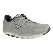 NEU SKECHERS Herren Fitness Sneakers Turnschuh Shape-ups LIV - DUAL DAMAGE Grau