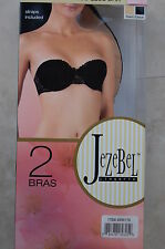 Jezebel Lingerie 2 Pack Convertible Strapless Bra - Straps Included Brand New