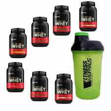 Optimum Nutrition 100% Whey Gold Standard 908g Protein Eiweiss + Shaker