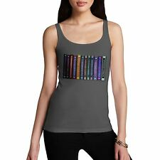 Twisted Envy Women's Complete Works Of Shakespeare Novelty Cotton Tank Top