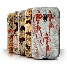 STUFF4 Phone Case/Back Cover for Samsung Galaxy Ace Plus/S7500 /Cave Painting