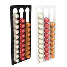 3 Bay 30 Nespresso Capsule Coffee Pod Holder Stand Container Wall Display Rack