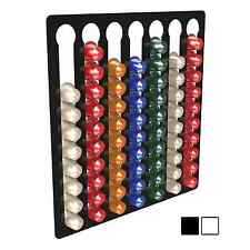 7 Bay 70 Nespresso Capsule Coffee Pod Holder Stand Container Wall Display Rack