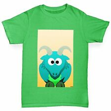 Twisted Envy Boy's Billy The Goat Organic Cotton T-Shirt