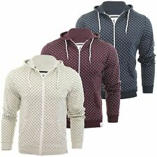 Mens Hoodie/ Zip Jumper Soul Star 'Perth' Polka Dot Sweatshirt