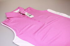 Callaway Performance Senza maniche Wicking Golf Polo Rosa Scuro/Viola S / 10